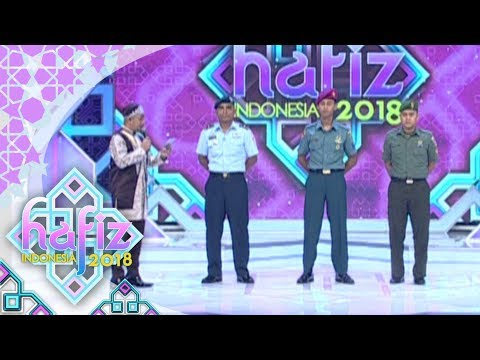 HAFIZ INDONESIA 2018 - Masyaallah Anggota TNI Estafet QS. Al-Imran 1- 6 [31 Mei 2018]