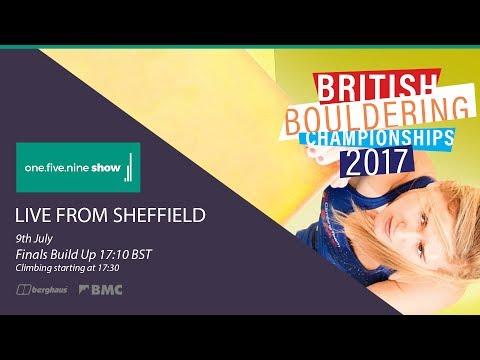 The BMC British Bouldering Championships 2017 - Finals
