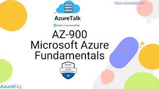 AZ 900 Session1 Cloud Concept
