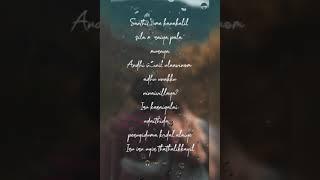 Santhithome Kanakalil 😉Vaaranam Aayiram 💞Status (Strom Light)
