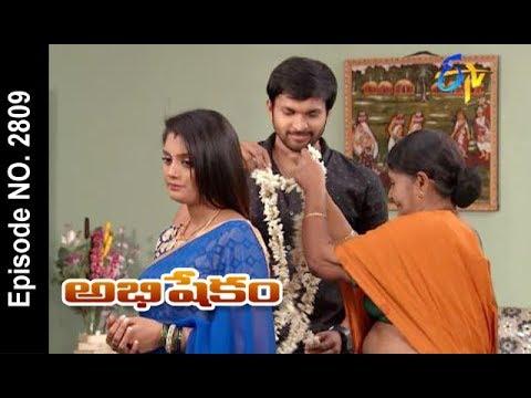 Abhishekam | 17th January 2018  | Full Episode No 2809 | ETV Telugu