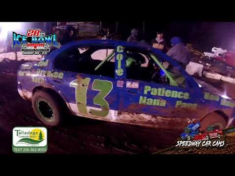 #13 James McAvoy Jr - Hotshots - 1-6-19 Talladega Short Track - In Car Camera