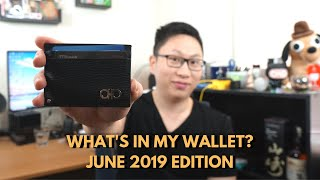 What's In My Wallet? June 2019 Edition