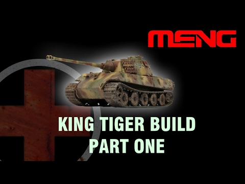 Building the Meng King Tiger Part 1