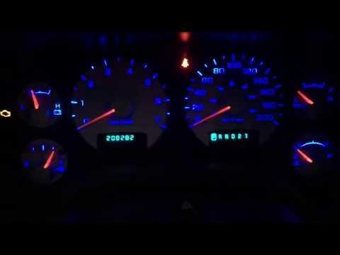 2004 Dodge Ram 1500 Complete 100% Blue Interior Lighting Conversion