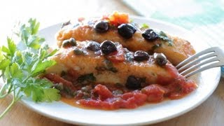 Mediterranean Halibut Fish Fillet Recipe