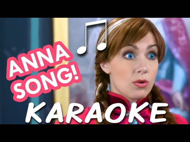 THAT WOULD NOT BE ME Karaoke (Princess Anna Song) Instrumental Sing-along