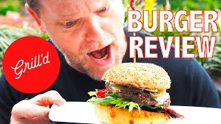 GRILL'D CHILI ADDICT BURGER FOOD REVIEW - Greg's Kitchen