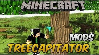 Minecraft Mods 1.6.1 - TreeCapitator - Arvores com Lógica =D