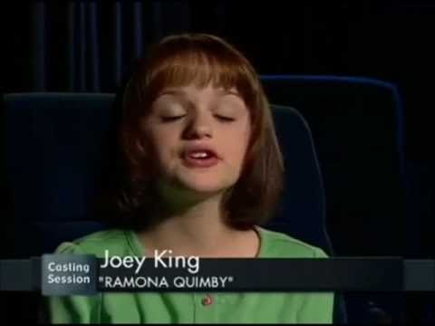 Joey King audition for Ramona and Beezus