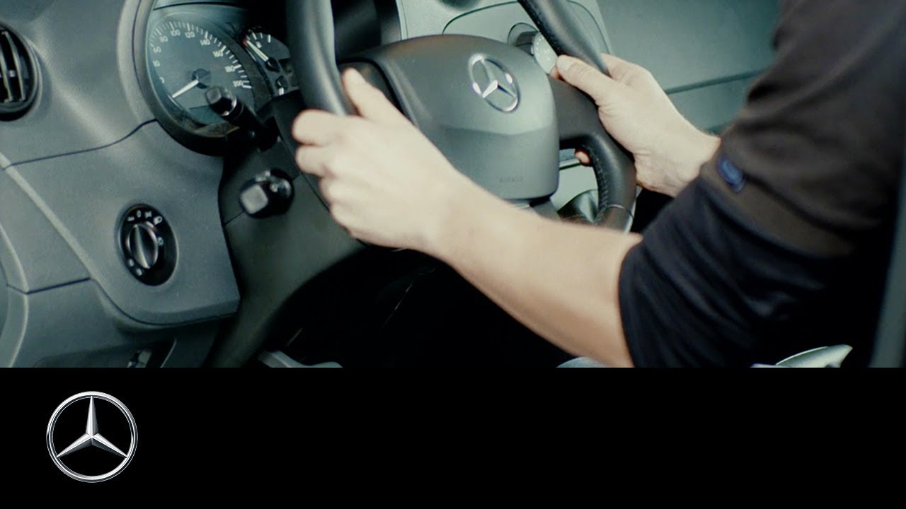 How To Adjust The Steering Wheel Of Your Mercedes Benz Van Youtube 1990 Vw Cabriolet Fuse Box