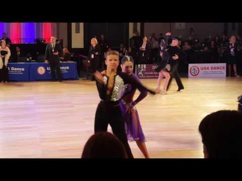 Kristers and Sophie Baltimore samba jun2 2016