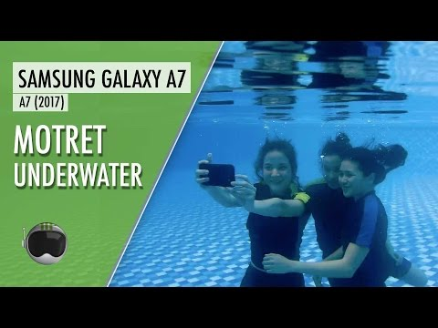 Samsung Galaxy A7 (2017) Indonesia: Tes Tahan Air