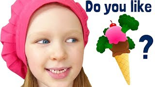 Do you like fish sweets - Funny food song for kids