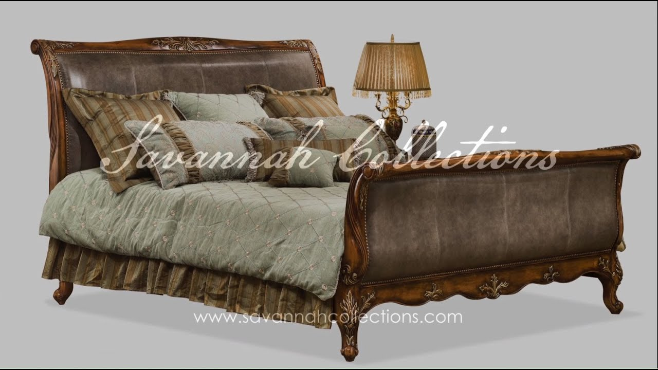 European Furniture Bed By Savannah Collections Henredon