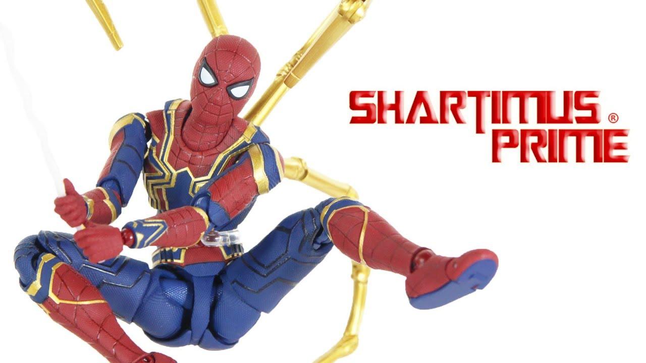 Marvel Spiderman Avengers Infinity War Iron Spider-Man Action Model Figure Toy