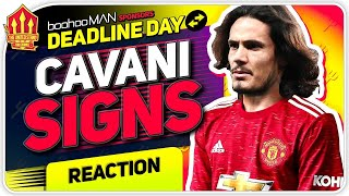CAVANI Deal Done! Man United Transfer News