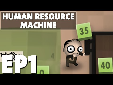 Let's Play Human Resource Machine Episode 1 - Breaking My Brain - Puzzle Programming Game