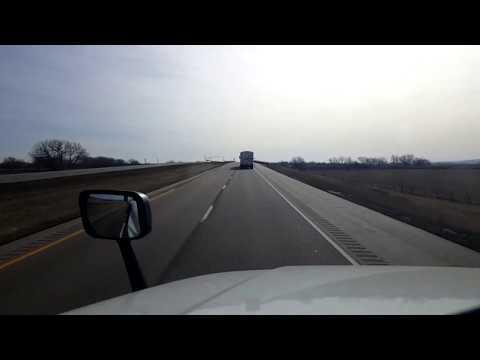 BigRigTravels LIVE! North Platte, Nebraska to WaKeeney, Kansas I-80 & US 283-Mar. 15, 2018