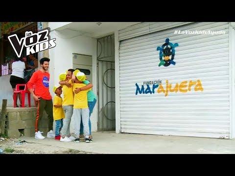 La Fundación Marajuera contó con la alegría de Sebastián Yatra y sus niños