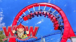 Wonderland Amusement Park Texas Tour and Review 2019 with Ranger