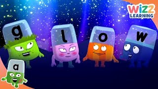 Phonics - Night Time | Alphablocks | Learn to Read | Wizz Learning