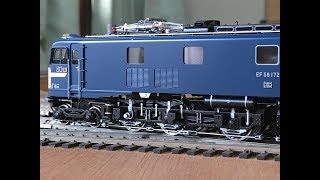 Brasstrains HO JNR EF58 Tenshodo TA gear 天賞堂のEF58172号機 TAギヤ