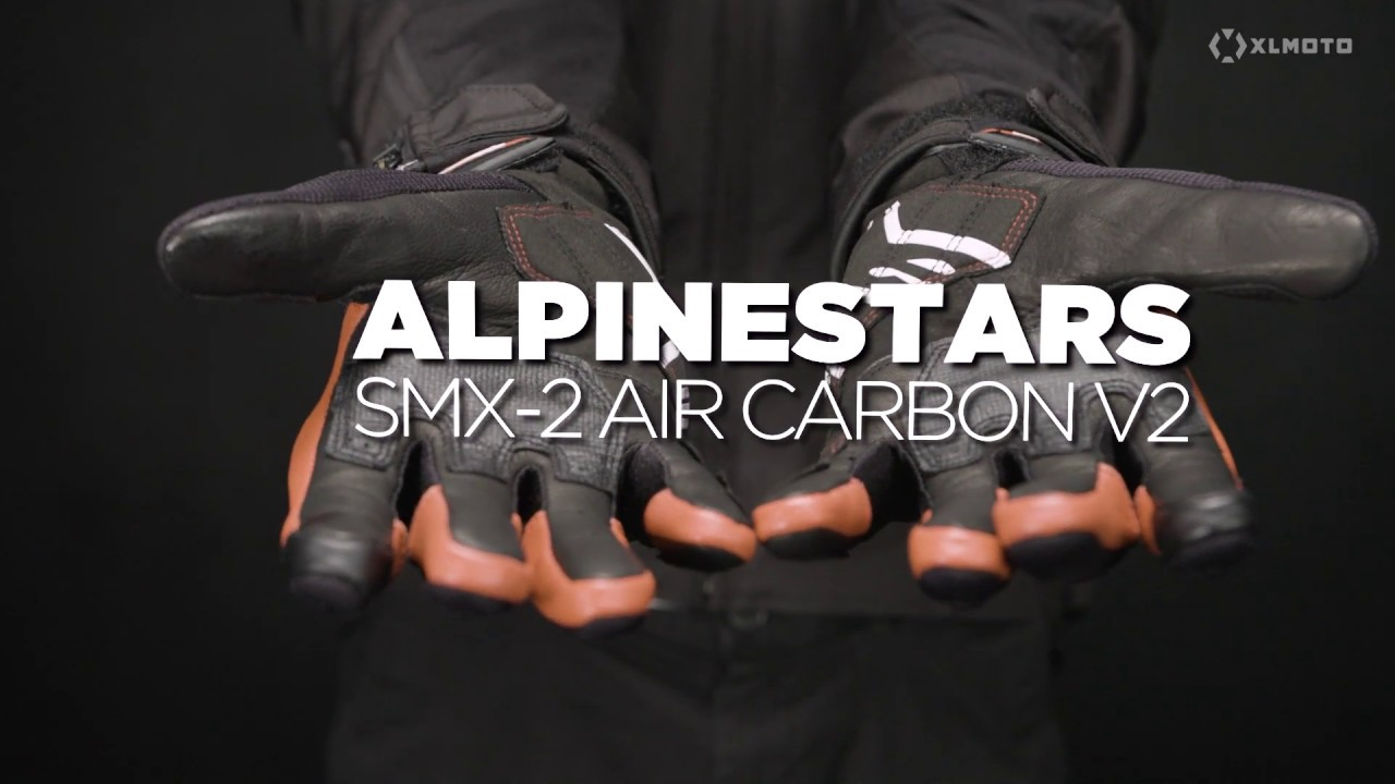 ALPINESTARS HONDA smx-2 Air Carbon v2 Guanti