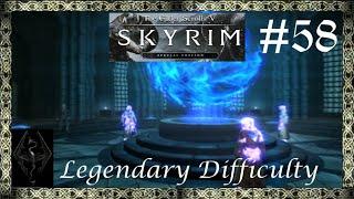 Skyrim Legendary Difficulty Pąrt 58 - Killing Ancano