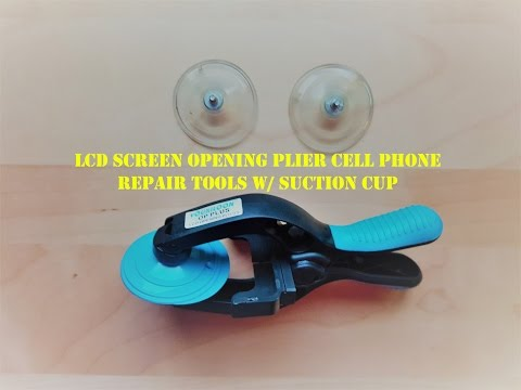 LCD Screen Opening Plier Cell Phone Repair Tools W/ Suction Cup