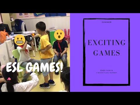 ESL games for kids // active games
