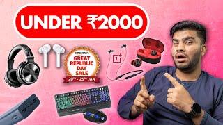 Best Tech Gadgets Deals Under ₹2000 Amazon Sales - Amazing Deals😱🔥