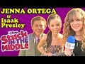STUCK in the MIDDLE JENNA ORTEGA & ISAAK PRESLEY Spill Info in Hollywood at Pete's Dragon Premiere