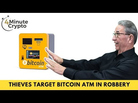 Thieves Target Bitcoin ATM In Smash And Grab