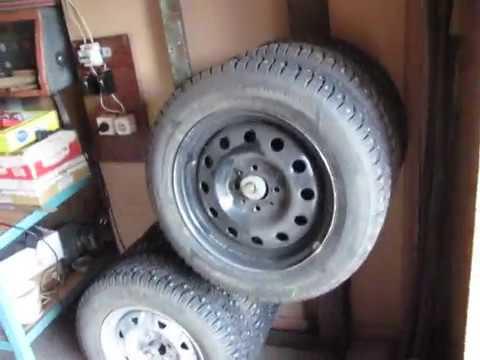 Кронштейн для хранения колес напольный своими руками, сезонное хранение колес в гараже,без затрат!!!