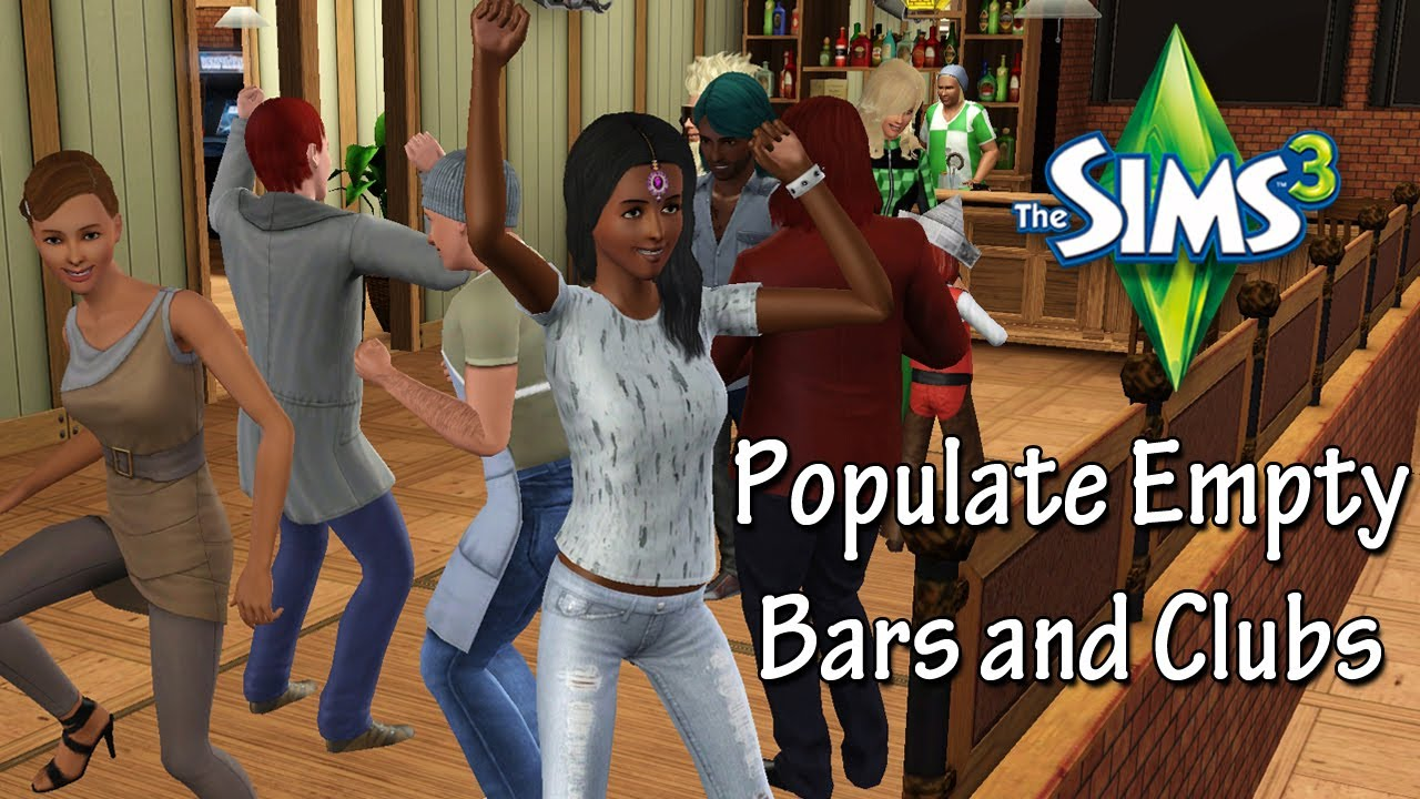 how to get bars sims 3
