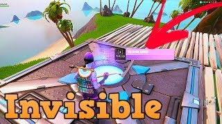 How To Get The *PURPLE* Shadow Bomb | Invisible Glitch in fortnite