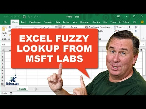 Fuzzy Lookup In Excel From Microsoft Labs - Episode 2271