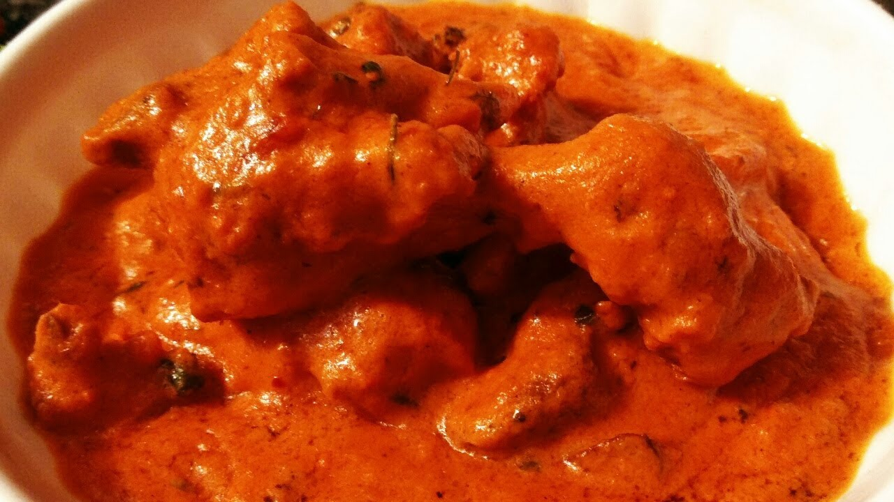 how to cook butter chicken at home