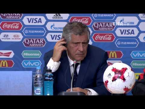 NZL v POR - Fernando Santos - Portugal Post-Match Press Conference