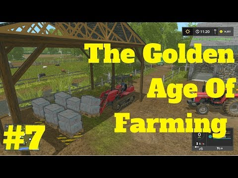 WOOL IS IN DEMAND!!! SELL SELL SELL!!! | The Golden Age Of Farming | Farming Simulator 2017