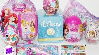 Принцессы Диснея! Микс! Disney Princess Mix! Рапунцель, Тиана, София, Золушка и др.