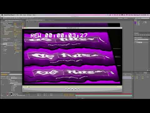 VFX (ADOBE AFTER EFFECT )   tutorials Rewind Your Animation Like An Old VHS Tape