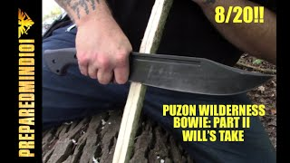 Puzon Wilderness Bowie Part 2: Will's Take - Preparedmind101