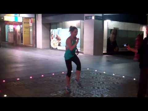 Zumba Queen  in China Town