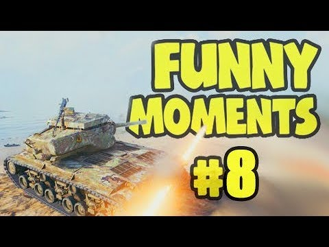 Wot Funny Moments #8 World Of Tanks FAILS & WINS
