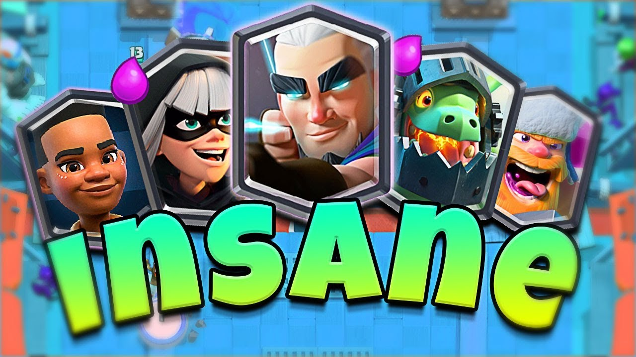THIS LEGENDARY DECK IS CRAZY in CLASH ROYALE!