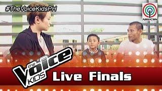 The Voice Kids Philippines Season 3 Live Finals: Joshua of Team Lea Homecoming