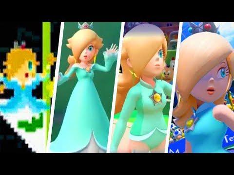 Evolution of Princess Rosalina Winning Animations and Victory Cutscenes (2008 - 2018)