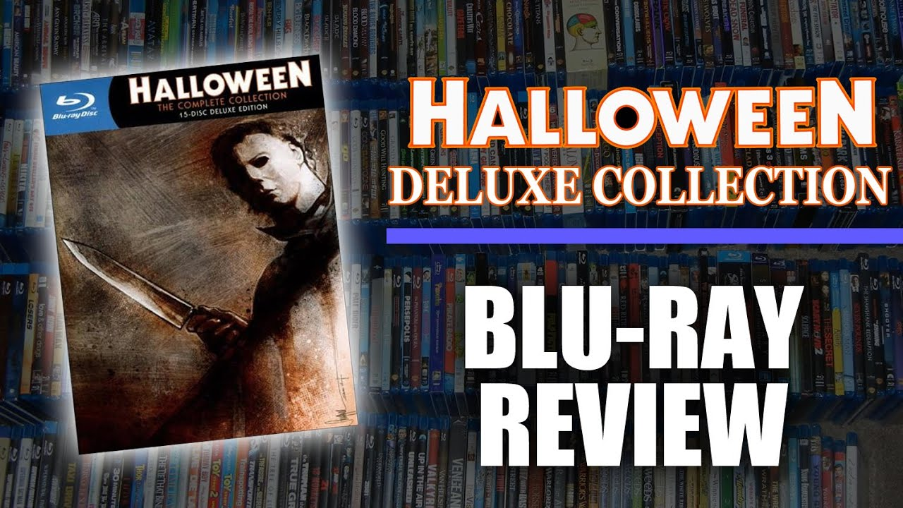 blu-ray review #003: halloween deluxe collection (shout factory